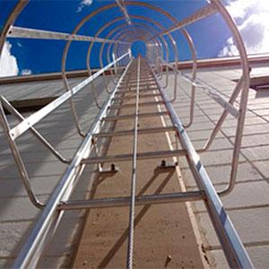 Linha de Vida Para Escada Marinheiro